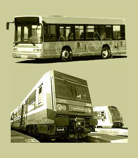 train bus